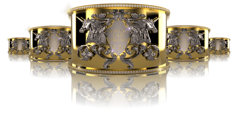 Jewelry CAD Software | Jewelry CAD Dream | 3D Jewelry Design